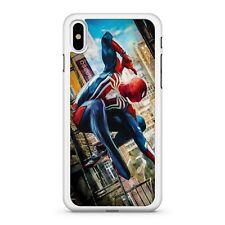 Spider man super héros Web Swinging Marvel Avengers Comic Book Téléphone Étui Housse