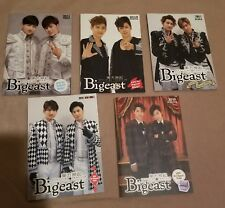 Tohoshinki Bigeast Official Magazine Bundle w/DVDs 동방신기 東方神起 TVXQ