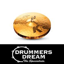 """Zildjian K Custom Session 14"""" Hi Hats Pair BRAND NEW Cymbals K0993"""