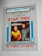 Files Magazine Focus On COMPLETE GUIDE TO STAR TREK John Peel SC Softcover