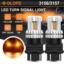 2x 3157 3157A Turn Signal Light 3020 LED Bulb For Ford F150 F250 F350 Super Duty