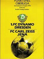 OL 90/91 1. FC Dynamo Dresden - FC Carl Zeiss Jena, 11.08.1990