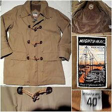 VTG 60s MIGHTY MAC Out O'Gloucester Mens 40/M Duffle Coat/Nautical Jacket USA