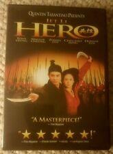 Hero Jet Li in Zhang Yimou Wu Xia Epic 2002 Dvd Like New
