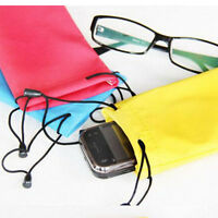 Enduring 5x Sunglasses Bag Pouch Soft Cloth Cleaning Optical Glasses Case HU