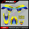 SUZUKI RM RMZ 125 250 450 MX GRAPHICS MOTOCROSS GRAPHICS BOMBER SPLIT KIT