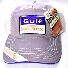 3217e6cfe88 GULF Super No-nox Knockproof Mesh Hat Cap Adjustable  NEW