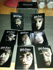 Harry Potter Steelbook Collection 1-2-3-4-5-6-7.1-7.2 Blurays N Shelf Like New
