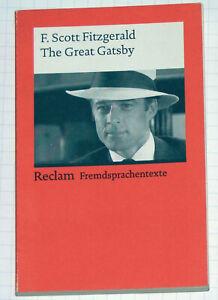 F. Scott Fitzgerald - The Great GATSBY - reclam Fremdsprachentexte englisch