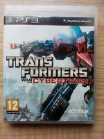 Transformers War for Cybertron PS3 Playstation 3 - Tested - Complete