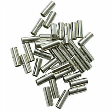 200X Uninsulated 22-10AWG Butt Connector Electrical Wire Crimp Ferrule Terminal