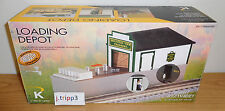 K-LINE LIONEL 6-21675 MOUNTAIN CREAMERY OPERATING MILK CAN LOADING DEPOT O GAUGE