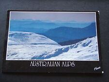 AUSTRALIAN ALPS BLUE RIDGES 1991 POSTCARD
