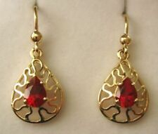 Lab-Created/Cultured Yellow Gold Ruby Fine Jewellery