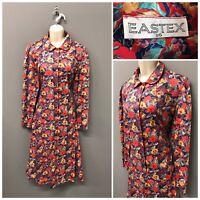 Eastex Multicoloured Floral Dress UK 16 EUR 44