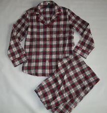 RALPH LAUREN LRL Plaid Flannel  2 pc Pajama SET PAJAMAS Womens M / MEDIUM NEW