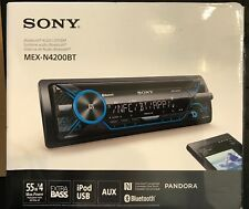 NEW Sony MEX-N4200BT Bluetooth CD Multimedia Car Stereo Receiver iPod USB 220W