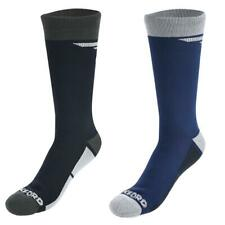 Oxford Waterproof Oxsocks Motorcycle Motorbike Winter Socks Blue Black New