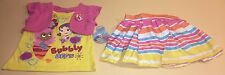 Bubble Guppies Toddler Girl Shirt, Skirt, & Shorts Outfit Set New 4T Molly Oona