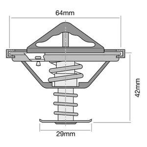 Tridon Thermostat (High Flow) TT301-170 fits Mitsubishi 3000 GT 3.0 i 24V (Z16A)
