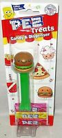 PEZ TREATS COLLECTION Dispenser 2021 BURGER [Carded]