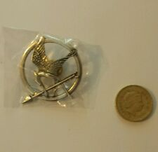 Unofficial Mockingjay pin badge from Hunger Games