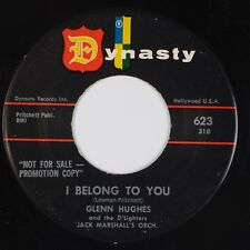 GLENN HUGHES & D'LIGHTERS: I Belong to You / My Love DYNASTY Doo Wop R&B MP3