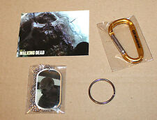 The Walking Dead Walker Zombie Dog Tag & Sticker/Autocollant