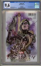 Infinity 6 CGC 9.6 Dodson Hero Variant War Thanos Avengers Black Order 1st Movie