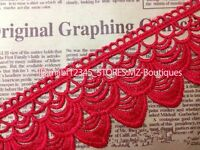 FP136J 1 Yard Lace Trim Ribbon For Dress Veil skirt Embroidered Sewing DIY Craft