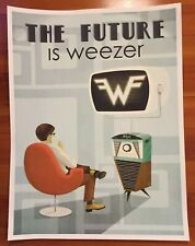 Weezer Poster- The Future Is Weezer rare work of art on thick poster