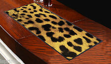 Leopard Print Design Bar Runner Pubs Clubs Salon Shop Home Great Gift Idea