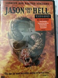Jason Goes To Hell - The Final Friday DVD GM6. Satan doesn't stand a chance! NEW