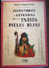 Estuche 3 Libros: Costumbres Y Leyendas De Los Indios Pieles Rojas (18/19/20)'82