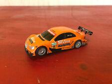 Vintage SCX 1/43 Scale Orange AMG Mercedes-C Klasse Slot Car