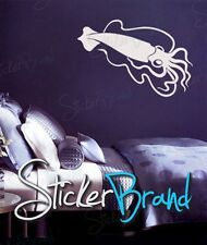 Vinyl Wall Decal Sticker Giant Squid