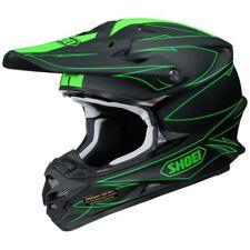 Shoei VFX-W MX Casco agitado TC4 Negro/verde Motocross/Off-Road/ATV