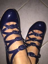 Chanel Mary Jane Shoes Size 39 100% Authentic