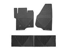 WeatherTech All-Weather Floor Mats for Ford Super Duty Crew Cab 2011-2016 Black