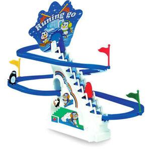 Classic Racer Penguin Track Running Go / Kids Game Ideal Gift UK