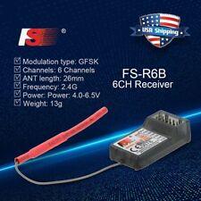 FlySky FS-R6B 2.4Ghz 6CH Receiver for TH9X FS-CT6B FS-T6 TX US 0G7B Transmitter