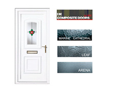 UPVC Rosette Resin Lead Door (425.00 includes fitting) and chrome furniture
