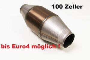 100 Zellen Metallkat 120mm r32 V6 V8 16V turbo Katalysator Rennkat  Zeller Euro4