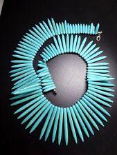 Turquesa Collar Howlite Largo aprox. 49cm