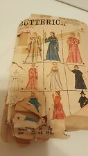 Vintage 1950's Butterick Sewing Pattern # 3238 Adult & Children Costumes  UNCUT
