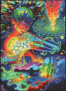 ASCCENSION BY CALLIE FINK PSYCHEDELIC BLOTTER ART - 450 SQUARES TRIPPY