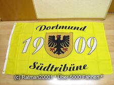 Fahnen Flagge Dortmund Südtribüne Fan - 90 x 150 cm