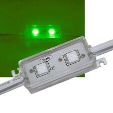 SMD LED Modul GRÜN / 2-fach 5050 SMD / 12V IP65 / Stripe Strip Leiste waterproof