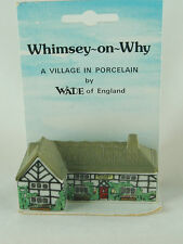 ENGLISH WADE PORCELAIN VILLAGE HOUSE FIGURINE WHIMSEY-ON-WHY BARLEY MOW