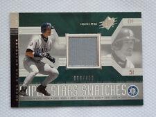 2002 Spx Superstars Swatches Silver #165 - Jersey - Ichiro 60/400